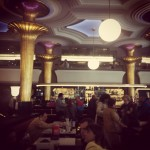 Ornately grand and literary Café Dindurra