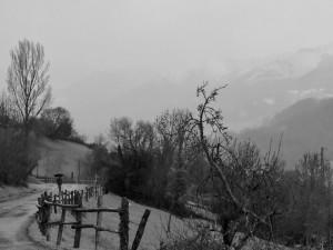 rainy day in Asturias