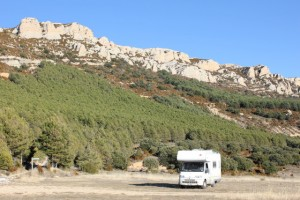 A relaxing weekend away in the motorhome. But what would be coming home to?